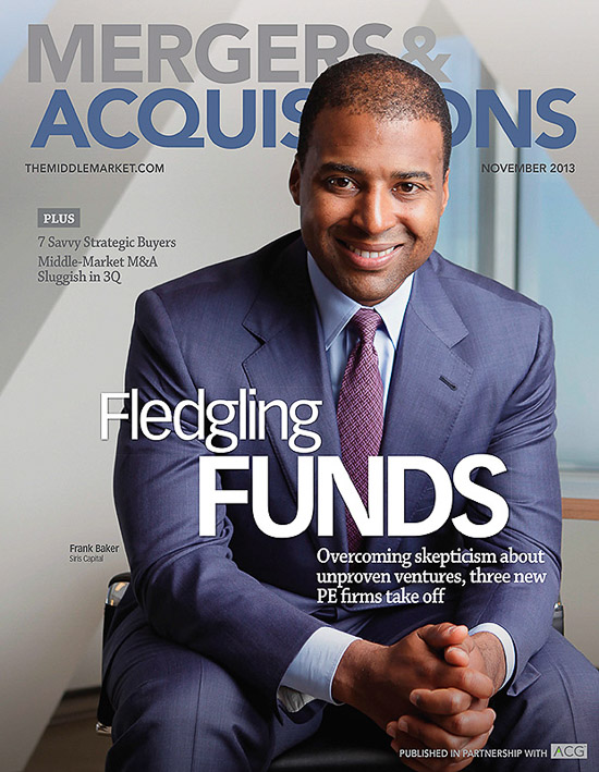 Frank Baker at SIRIS Capital Group for Mergers and Acquisitions
