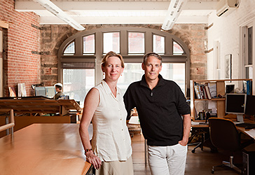 Lisa Gray and Alan Organschi of Gray Organschi Architecture for Residential Architect magazine